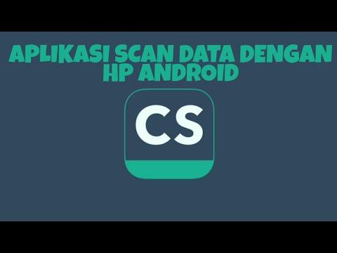 Cara Scan Dokumen Menggunakan Hp Aplikasi Camscanner Youtube