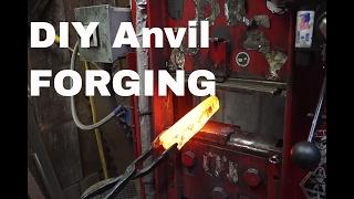 Forging an ANVIL Hoffman Blacksmithing