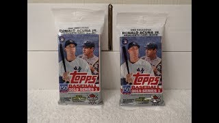 2019 Topps Series 1 Baseball Cards - Two Rack Packs Break - Krysdavar ⚾
