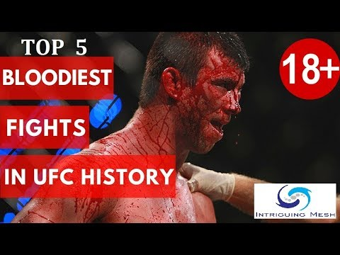 Top 5 Most Bloodiest Fights In UFC MMA History || UFC 2019