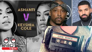 """Who will be the winner of upcoming ashanti vs keyshia cole verzuz battle? can you name your fave rap """"love songs""""? made best hooks/choruses in ra..."""