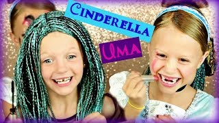 Descendants Uma and Cinderella Silly Not My Arms Makeup