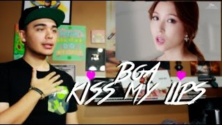 BoA - Kiss My Lips MV Reaction [GET THAT ISH BoA!]