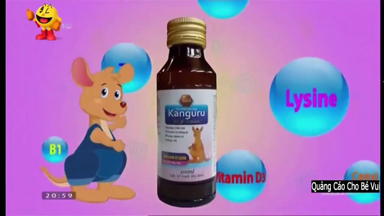 Quảng Cáo Siro Kanguru Vui Nhộn Cho Bé Ăn Ngon Mau Lớn