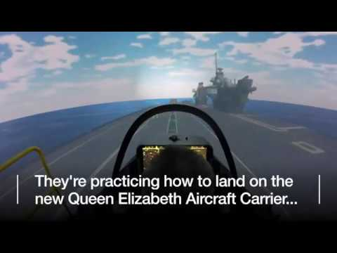 Carrier Queen Elizabeth, simple F-35B sim report