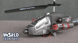 Missile Storm Missile Shooting RC Helicopter from World Tech Toys