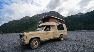 Vintage & Rare RV Tour ~ 1984 Ford Ranger Roll-A-Long Motorhome