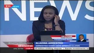 Supporters of George Aladwa compel Police to ferry him in a high class car after clashes