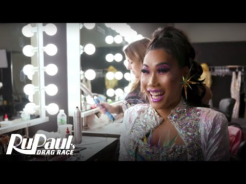 BTS at the RuPaul's Drag Race All Stars 4 Promo Shoot | VH1