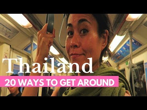 TOP 20 WAYS TO TRAVEL THAILAND | Thailand Travel Guide