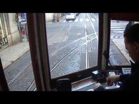 Самая нервная работа на свете - вагоновожатый Лиссабонского трамвая 28 маршрута