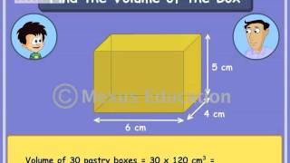Math Learning: Learn about Volume of objects