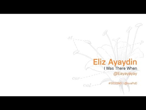 MFA Products of Design 2015: Eliz Ayaydin presents I Was There When