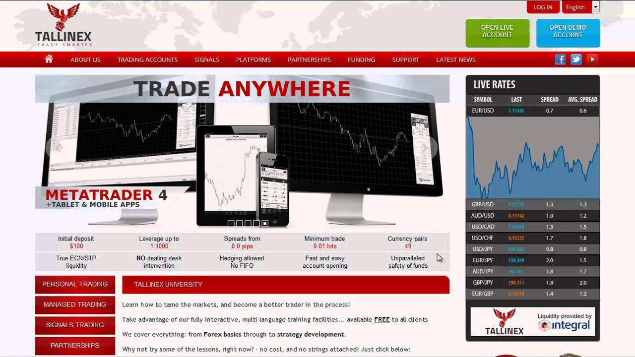 Tallinex forex broker review