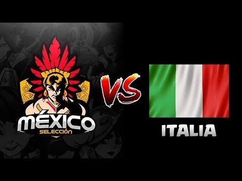 ¡¡INCREIBLE PARTIDA DE RAYO A 1 PUNTO DE PERDER!! - MÉXICO VS ITALIA MLG WORLDS - CLASH ROYALE