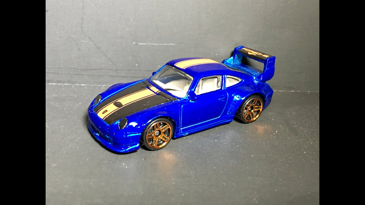 hot wheels porsche 993 gt2 1 64 review youtube. Black Bedroom Furniture Sets. Home Design Ideas