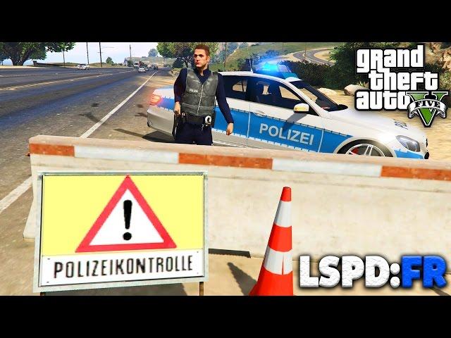 GTA 5 LSPD:FR - AUTOBAHNPOLIZEI und ALKOHOLIKER - Deutsch - Polizei Mod #29 - Grand Theft Auto