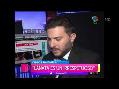 Brancatelli reconoció que silbó a Lanata en los Martín Fierro