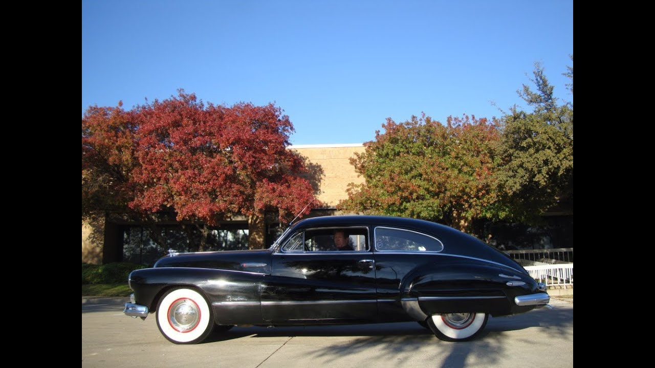 1948 Buick Roadmaster Sedanette Youtube