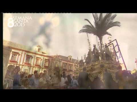 Salida de Catedral Borriquita Sevilla 2015