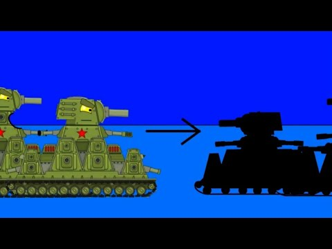 Reborn of the KV-44M and KV-44-Cartoon about tanks