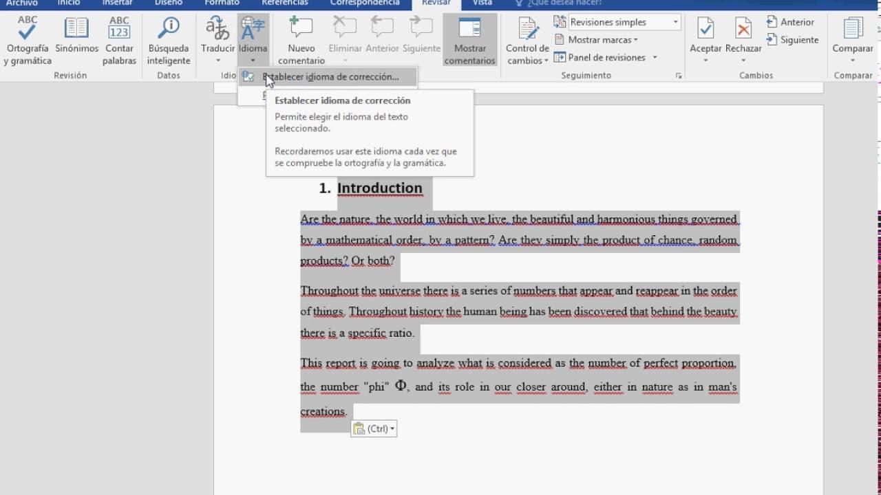 corretor ortografico para o word