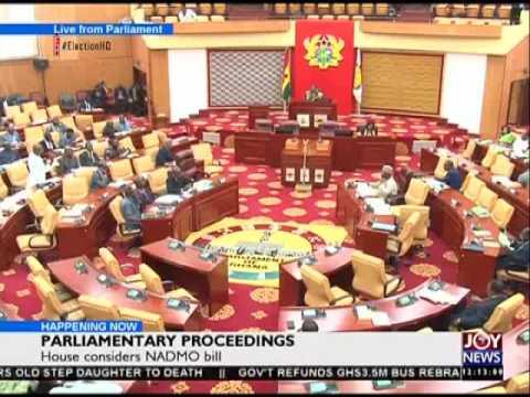 Parliamentary Proceedings - Joy News Today (20-7-16)