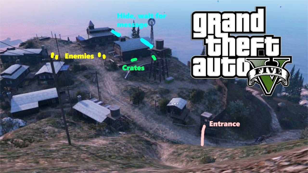 Grand Theft Auto V camp nudiste - YouTube