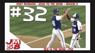 MLB 14: Road to the Show - Dodger Stadium Destruction - [Ep 32]