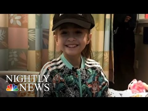 'I Haven't Felt This Free In A While:' Talks About Life-Saving Transplant | NBC Nightly News