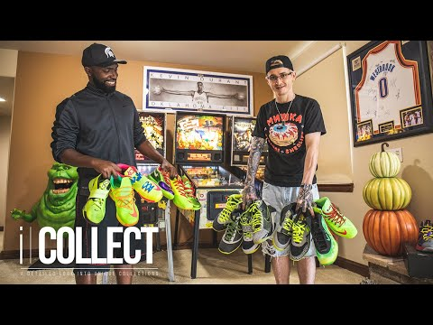 Take a Look Inside This Colorado Springs Local's INSANE Sneaker Basement, PART I | iCollect