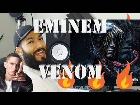 "EMINEM ""VENOM"" OFFICIAL VIDEO FIRST REACTION AND REVIEW #beardedkingface"