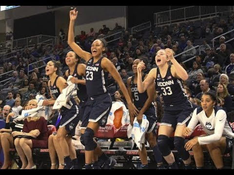 UConn Women's Basketball Highlights v. DePaul 12/08/2017