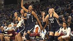 UConn Women's Basketball Highlights v. DePaul 12/08/2017