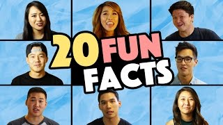 20 Fun Facts: WONG FU PRODUCTIONS!