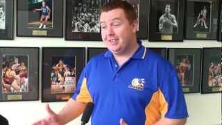 2013 SEABL Pre-Season - Jonathan Goodman - Bendigo Lady Braves