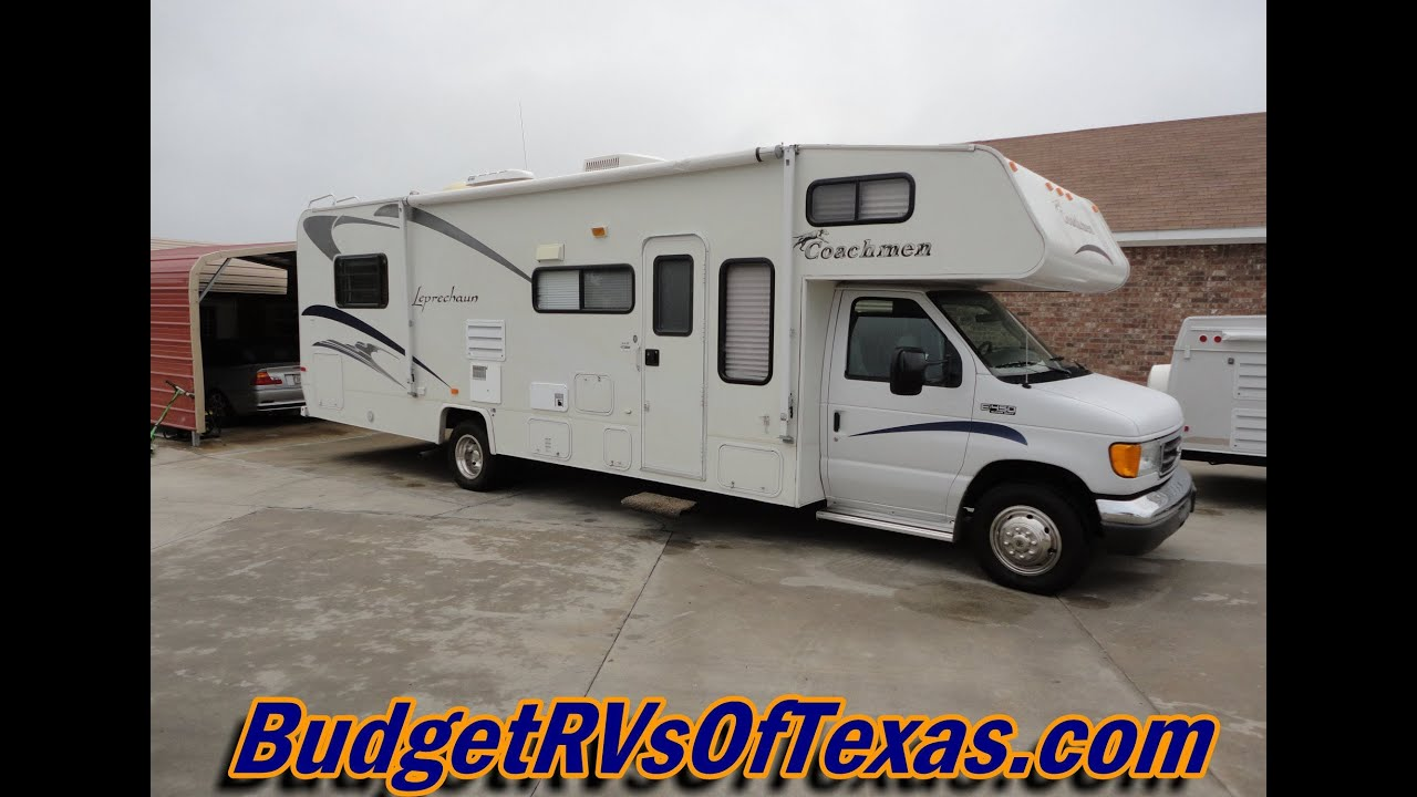 Check Out This Must See 30ft Class C By Coachmen 2004 Leprechaun
