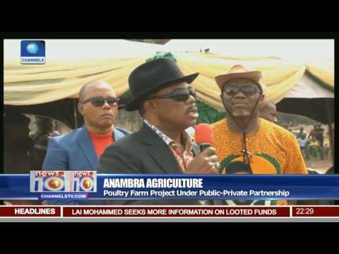 Anambra Agricultural: Obiano Commissions Lynden Integrated Farm Project