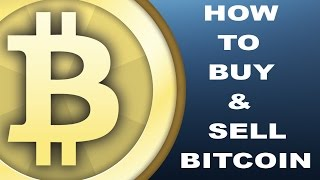 HOW TO BUY/SELL BITCOIN | CoinBase