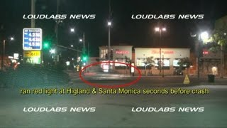 "Michael Hastings ""CAUGHT ON CAMERA"" Running Red-Light Seconds Before Crash"