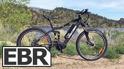 VoltBike Enduro Video Review - Cheap Full Suspension Ebike