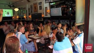 2014 World Cup Argentina vs Nigeria at Novecento, NYC
