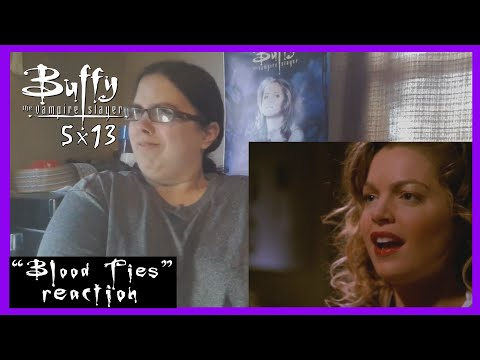 """Buffy the Vampire Slayer - 5x13 """"Blood Ties"""" Reaction (Part 2) from YouTube · Duration:  12 minutes 31 seconds"""