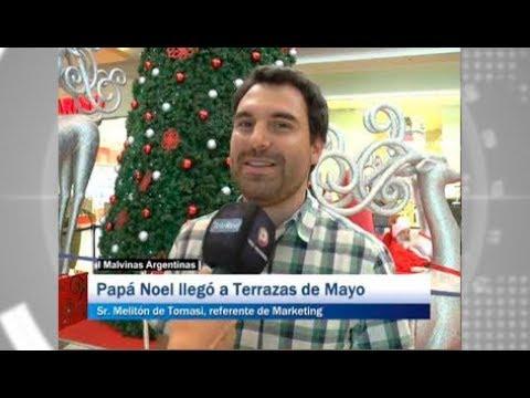 Malvinas Argentinas Papá Noel Llegó A Terrazas De Mayo