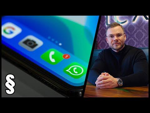 So liest die Polizei deinen WhatsApp Chat heimlich mit | Rechtsanwalt erklärt