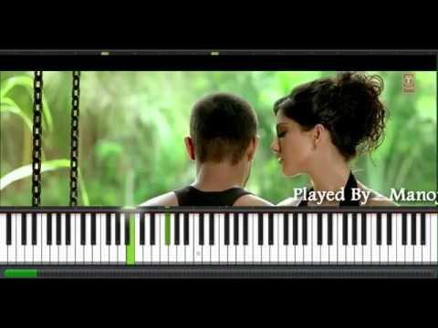 Abhi Abhi - Jism 2 - Piano Instrumental Cover  - Manoj Yarashi