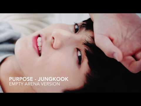 Purpose - Jungkook Cover - Empty Arena
