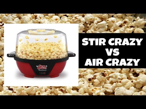 how to clean stir crazy popcorn makere