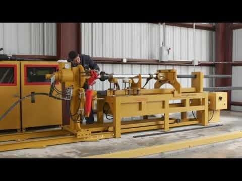 Testing HEMS-Tuxco Hydraulic Cylinder Servicer