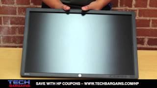 hp z24i ips led backlit monitor unboxing hd